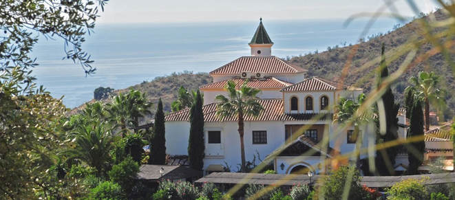 Image of beautiful Yoga Retreat location in Spain